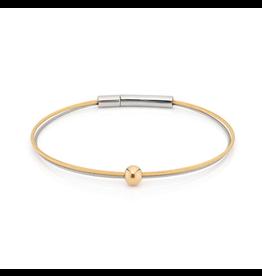 Clic  Dutch Design Jewelry Thinking of You Armband Bolletje Goud