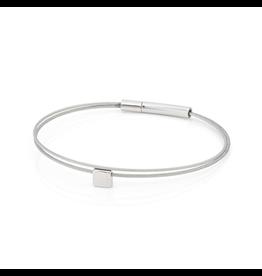 Clic  Dutch Design Jewelry Thinking of You ⬜ Bracelet Basic Silver