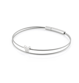 Clic  Dutch Design Jewelry Thinking of You Butterfly Bracelet Basic Silver