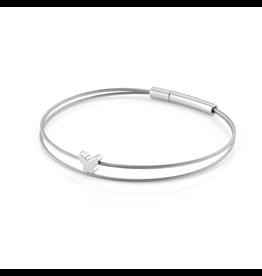 Clic  Dutch Design Jewelry Thinking of You  Schmetterlingsarmband Basic Silver