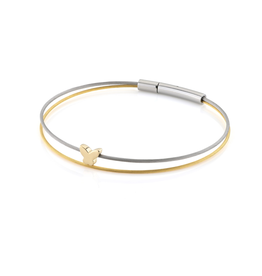 Clic  Dutch Design Jewelry Thinking of You Butterfly Bracelet Gold
