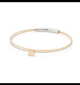 Clic  Dutch Design Jewelry Thinking of You ⬜ Armband Gold