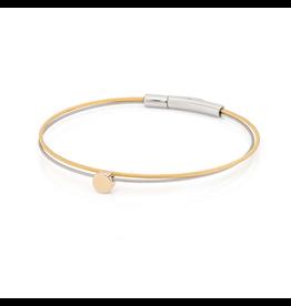 Clic  Dutch Design Jewelry Thinking of You ⚪ Bracelet Gold