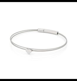 Clic  Dutch Design Jewelry Thinking of You ❤️ Armband Basic Zilver
