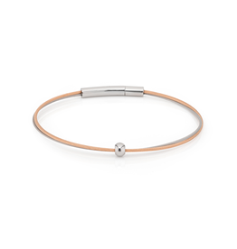 Clic  Dutch Design Jewelry Thinking of You Armband Rosé Bolletje Zilver