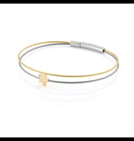 Clic  Dutch Design Jewelry Denk an dich ⭐ Armband Gold