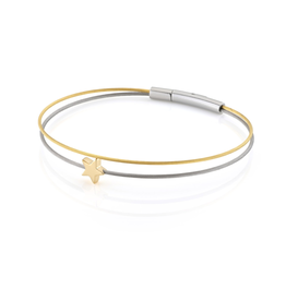 Clic  Dutch Design Jewelry Thinking of You ⭐ Bracelet Gold