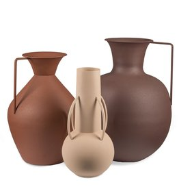 Pols Potten Vases Roman brown set 3