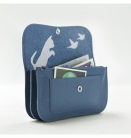 Keecie Portemonnaie Cat Chase Faded Blue