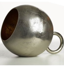 Pols Potten Lamp Kettlebell Nickel and Gold