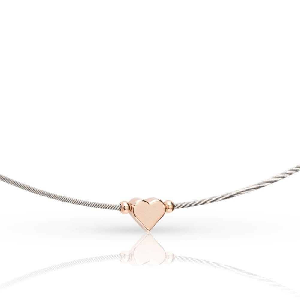 Thinking of You ❤️ Collier Rosé