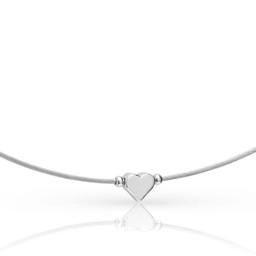 Thinking of You ❤️ Collier Zilver