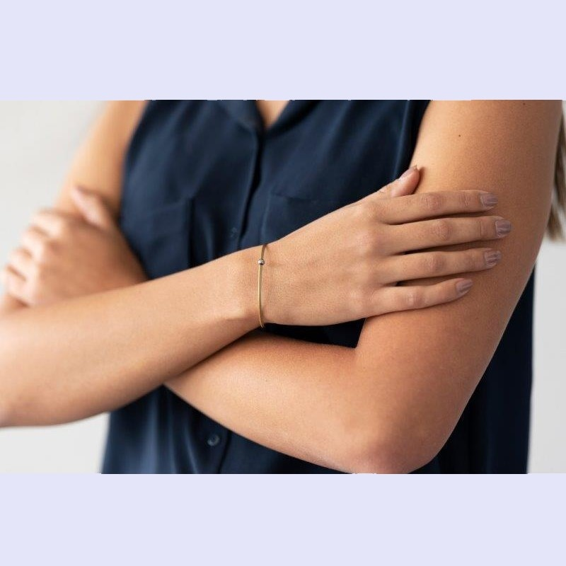 Thinking of You armband goud Bolletje Zilver