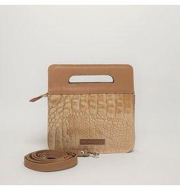 De Geus Tassen Mini Bag, Krokodil