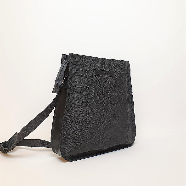 Ripple Bag, Zwart Mat