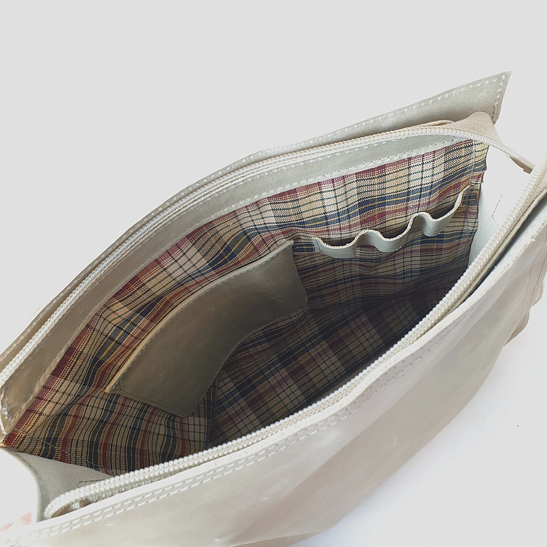 Ripple Bag, Crème