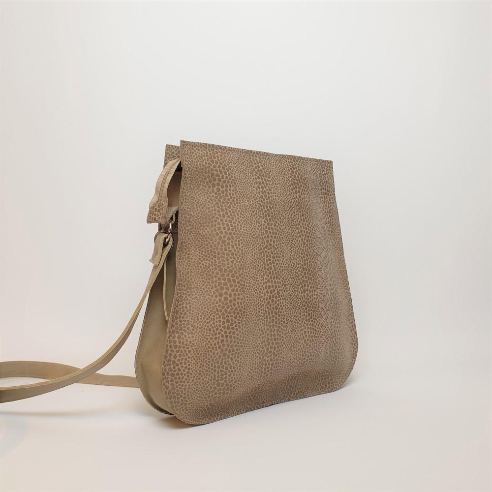 Ripple Bag, Speckle Natural