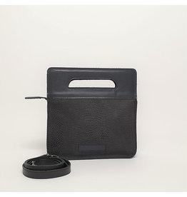 De Geus Tassen Mini Bag, Zwart Mat