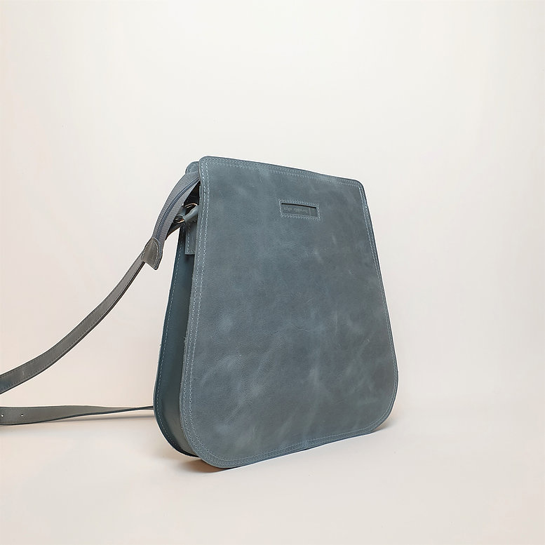 Ripple Bag, Grijsblauw