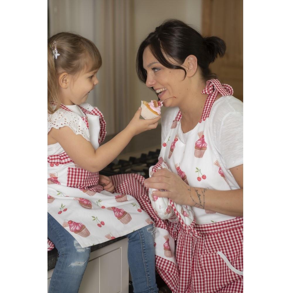 Kinderschort Cherry Cupcakes