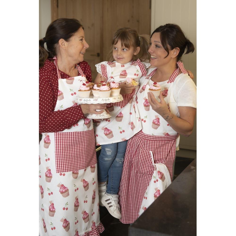 Schürze Cherry Cupcakes