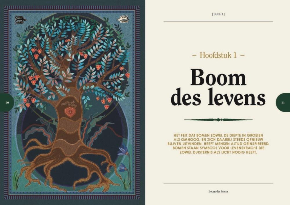Dickes altes Baumbuch