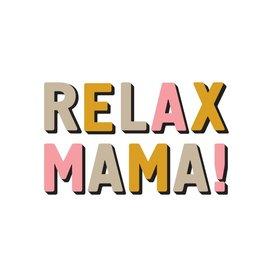 Uitgeverij Snor Relax Mama Postcards