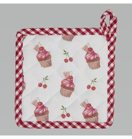 Clayre & Eef Topflappen Kinder Cherry Cupcakes