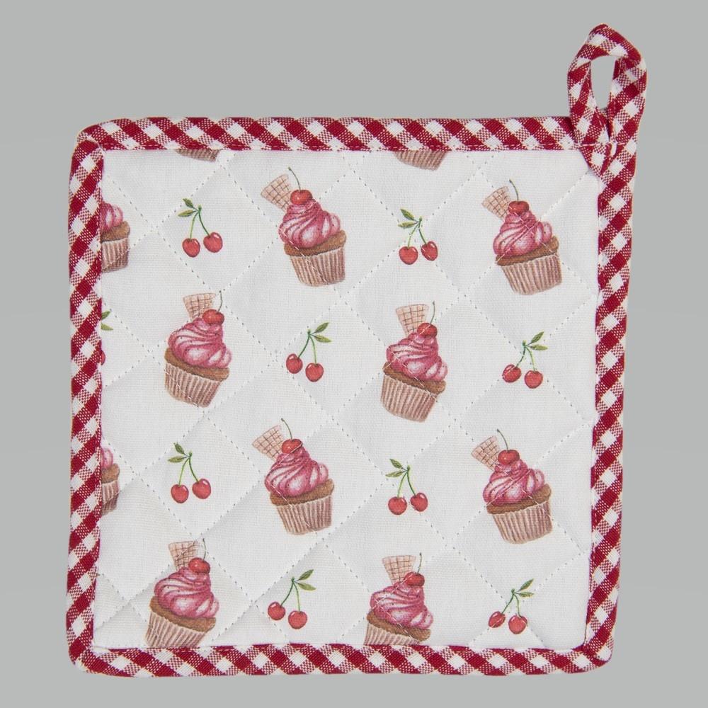 Topflappen Cherry Cupcakes