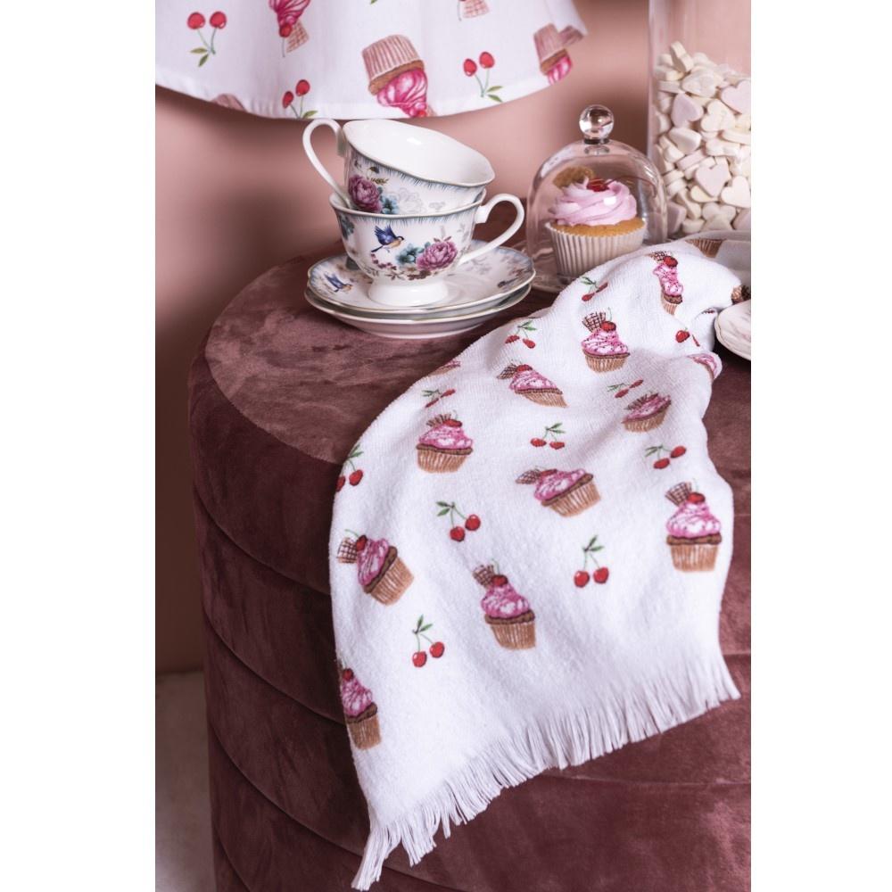 Gästehandtuch/Handtuch Cherry Cupcakes