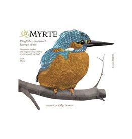 Myrte Wall sticker Kingfisher on Tak