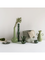 Flower Vase Recycled Glass By Mieke Cuppen S Duck Green