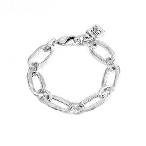 UNOde50 UNOde50 Armband | AWESOME | Zilver | Schakel Armband