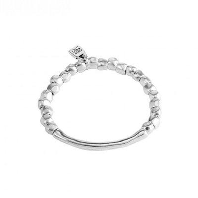 UNOde50 UNOde50 Armband | JOURNEY | Zilver | Elastisch | PUL1208MTL0000M