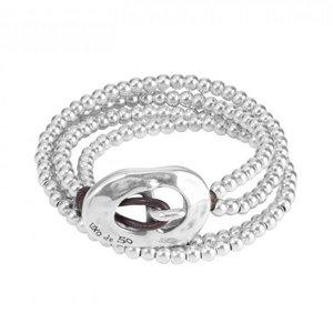 UNOde50 UNO de 50 Armband | BOLUDA | Wikkel armband