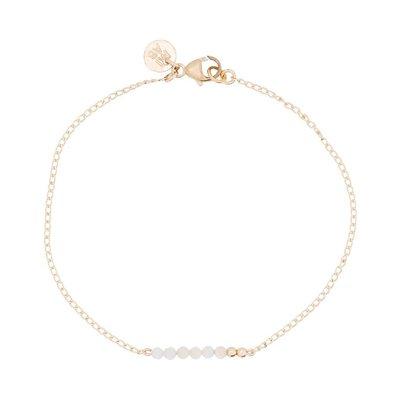 MIAB Jewels MIAB Armband   Goud   White Chain   14k Gold Filled