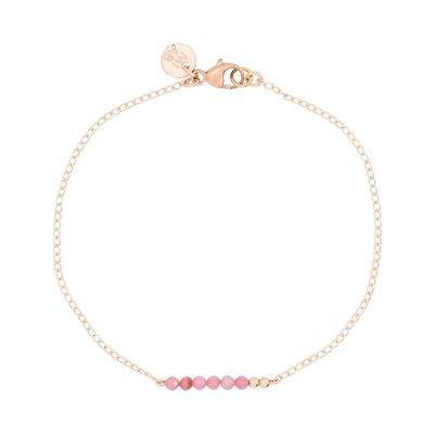 MIAB Jewels MIAB Armband | Rosé Goud | Soft Pink Chain | 14k Gold Filled