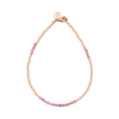 MIAB Jewels MIAB Armband | Rosé Goud | Soft Pink| 14k Gold Filled
