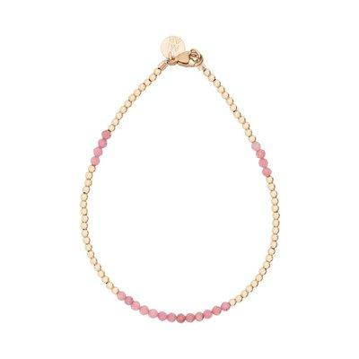 MIAB Jewels MIAB Armband   Goud   Soft Pink  14k Gold Filled
