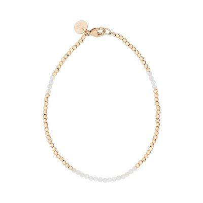MIAB Jewels MIAB Armband | Goud | White | 14k Gold Filled