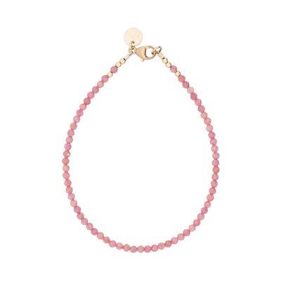 MIAB Jewels MIAB Armband | Goud | All Soft Pink| 14k Gold Filled