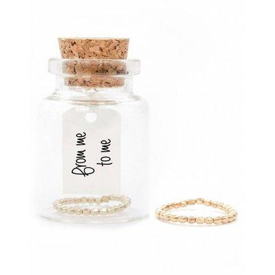 MIAB Jewels MIAB Ring | Goud | Facet | 14k Gold Filled