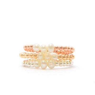 MIAB Jewels MIAB Ring | Goud | Parel | 14K Gold Filled