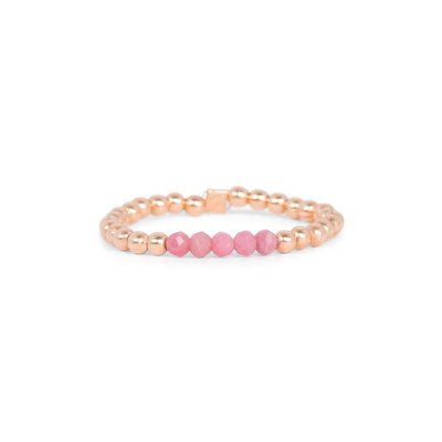 MIAB Jewels MIAB Ring | Rosé Goud | Soft Pink | 14K Gold Filled