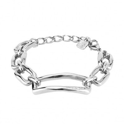 UNOde50 UNOde50 Armband | CHAIN BY CHAIN | ZILVER | SCHAKEL | FW18 | PUL1763MTL0000M