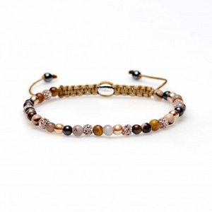 KARMA Jewelry KARMA Armband | Spiral Roof Garden XXS | Champagne Crystal | 84114