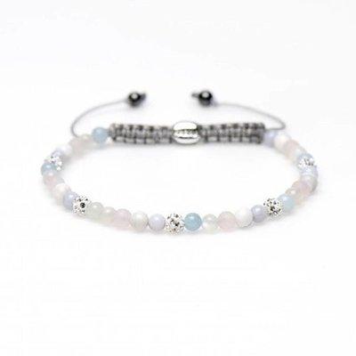 KARMA Jewelry KARMA Armband | Spiral Iris XXS | White Crystal | 84226