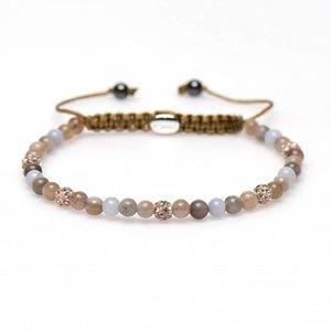 KARMA Jewelry KARMA Armband | Spiral Holly XXS | Champagne Crystal | 84240