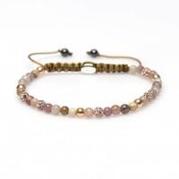 KARMA Jewelry KARMA Armband | Spiral Zinnia XXS | Champagne Crystal | 84245