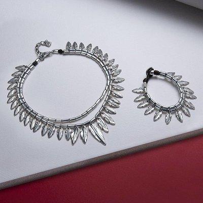 UNOde50 UNOde50 Armband | PEAK AND PEN | ZILVER | VEER | FW18 | PUL1777MTL0000M